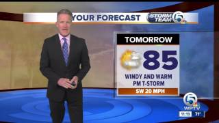 Latest Weather Forecast - Tuesday 11 p.m.