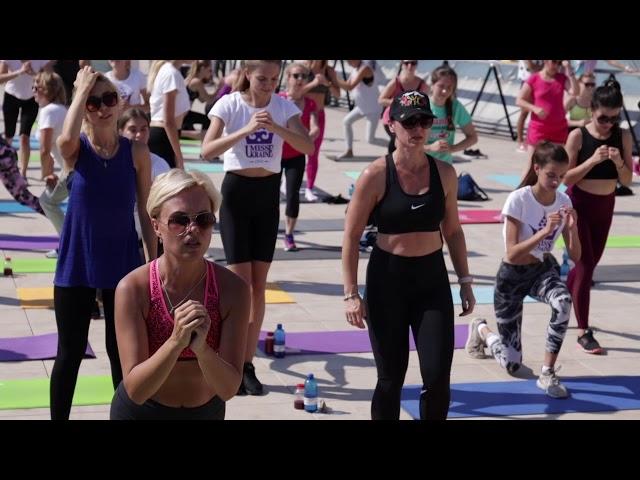 Спорт утро с Мисс Украина: healthy edition