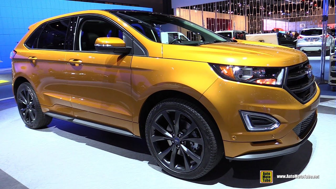 2015 Ford Edge Sport AWD  Exterior and Interior Walkaround