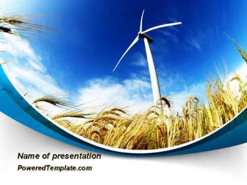 Environmentally Friendly Agriculture Powerpoint Template By