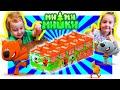 Мимимишки Игрушки Распаковка SWEET BOX Полинка и Димон откроют ВСЁ mp3