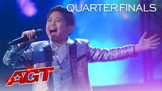 """Peter Rosalita Sings """"I Have Nothing"""" by Whitney Houston - America's Got Talent 2021"""