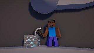 MINE DIAMONDS | miNECRAFT AniMATIon Video