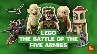 ◉ LEGO Hobbit - The Battle of The Five Armies (Битва 5 Воинств) stop motion build review 79017