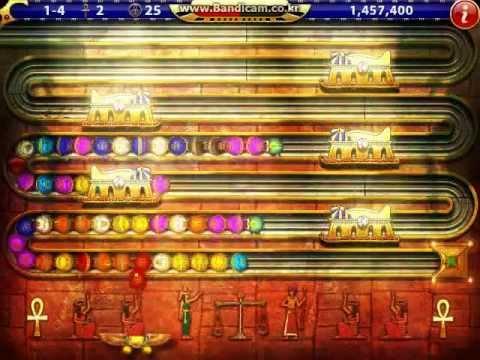 Luxor HD Challenge of Horus Level 1-4 [Player : HoNoR]  