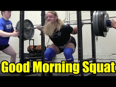 How To Fix The GOOD MORNING SQUAT: ft. Austin Baraki and Jordan Feigenbaum