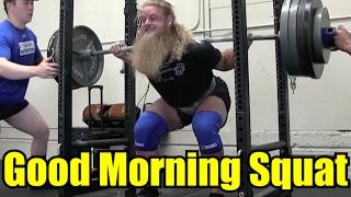 How To Fix The GOOD MORNING SQUAT: ft. Austin Baraki and Jordan Feigenbaum