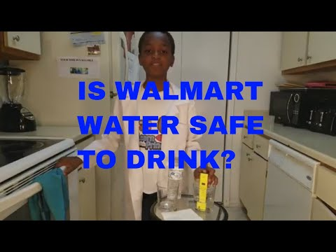 Walmart Water Safe To Drink? Walmart Vs Tap/ Winner Not Who You Think!