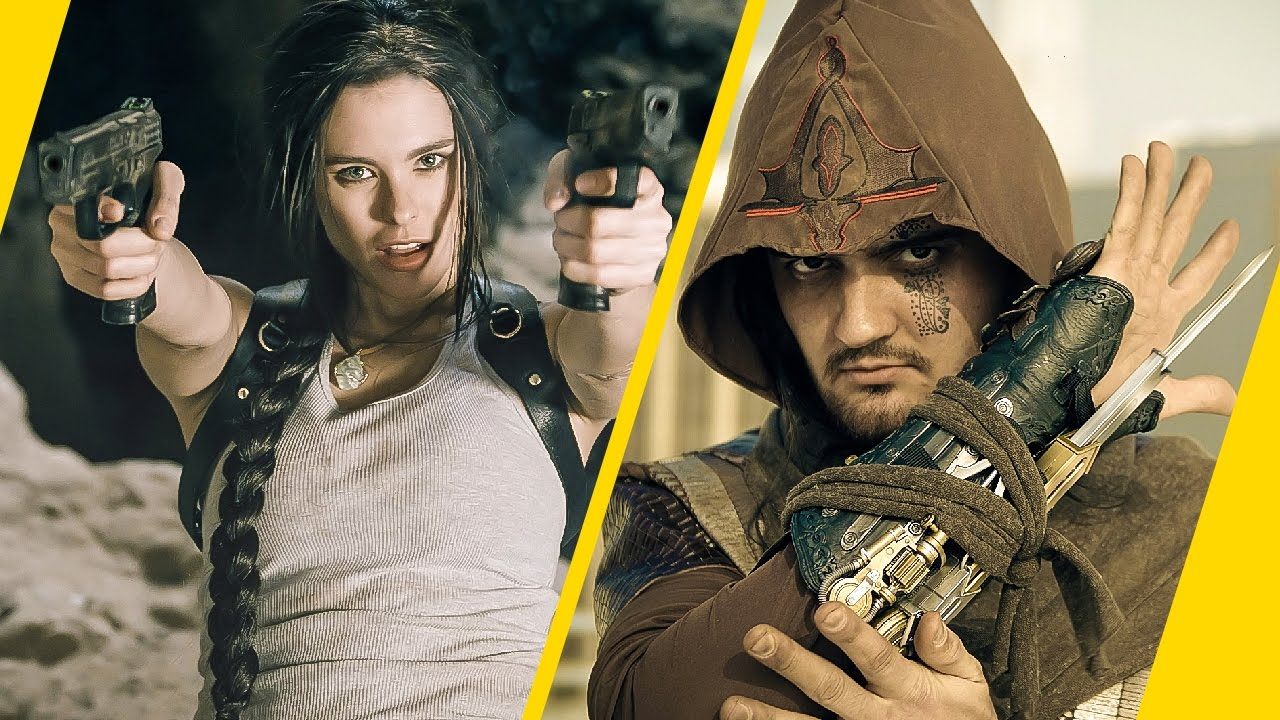 Assassin's Creed vs Lara Croft of Tomb Raider - Video Game ...