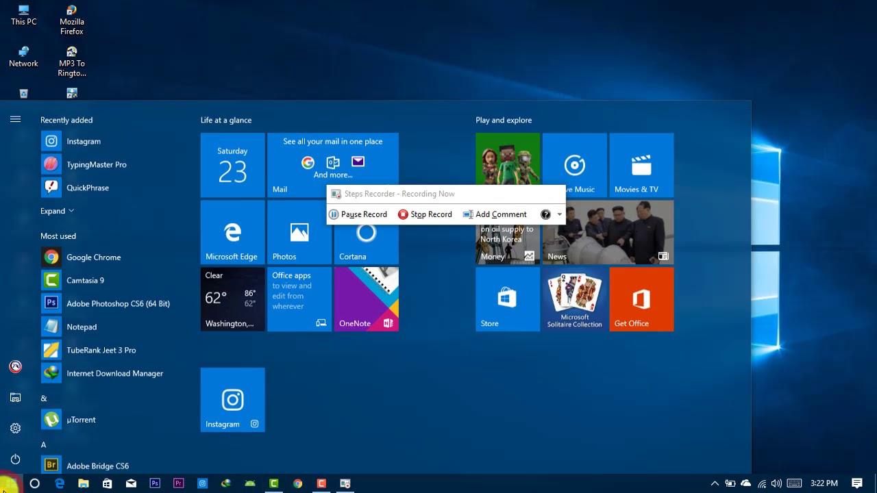 Cách Sử Dụng Windows Problem Recorder Windows 7/8/10 - HUY AN PHÁT
