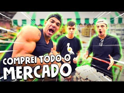 COMPREI TODO O MERCADO  VLOG 086