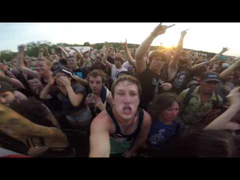 Chelsea grin- recreant live warped tour 2016