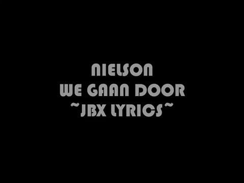 Nielson - We gaan door JBX