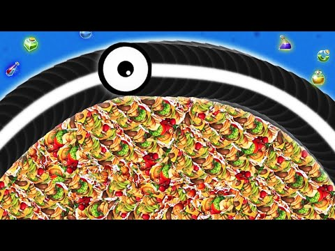 Worms Zone Io 001 Longest Slither Snake 2,800,000+ Score Top 01 Best Epic Worms Zone Gameplay #7