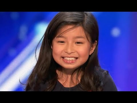 9 Y.O. Little Girl STUNS EVERYONE With AMAZING 'My Heart Will Go On'