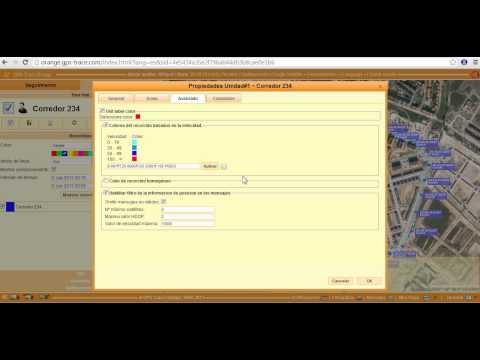 Uso de GPS-Trace Orange con un localizador TK102-2 ORIGINAL de www.xexun.es