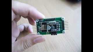 Радиомодуль nRF24L01 и адаптер на Atmega8(Описание модуля здесь http://we.easyelectronics.ru/Radio/radiomodul-nrf24l01-bystryy-start.html., 2014-07-22T11:03:47.000Z)