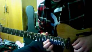 The Weeknd - The Morning guitar solo (ish)