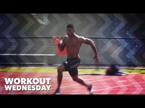tyson gay running workout