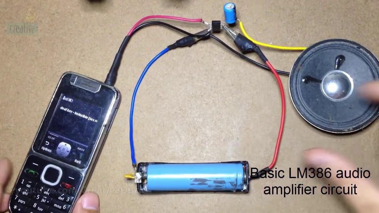 Stereo Stk013 Audio Amplifier Circuit