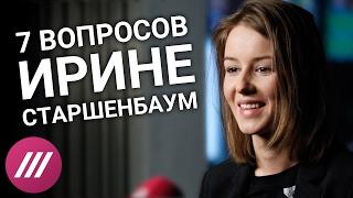 Блиц опрос  Ирина Старшенбаум