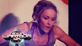 Katie McDonnell is back! | Ninja Warrior UK