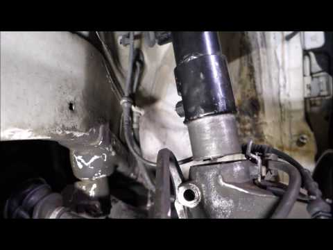 How to quickly remove a strut from the knuckle on a MK5 Golf/Jetta