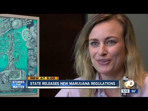 California releases new marijuana regulations