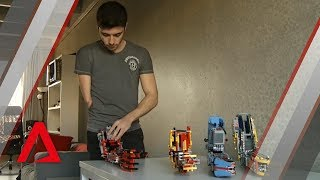 Teen in Spain builds his own prosthetic arm out of Lego