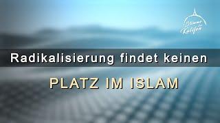 Radikalisierung findet keinen Platz im Islam ! | Stimme des Kalifen