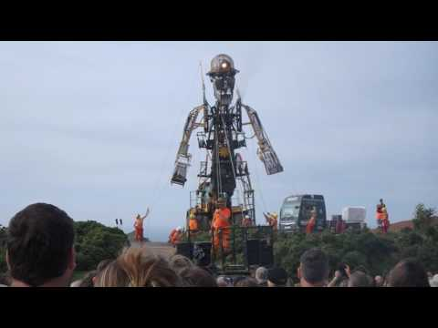 The Man Engine at Geevor - 6 August 2016