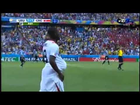Uruguay vrs Costa Rica 1-1 Narración Kristian Mora