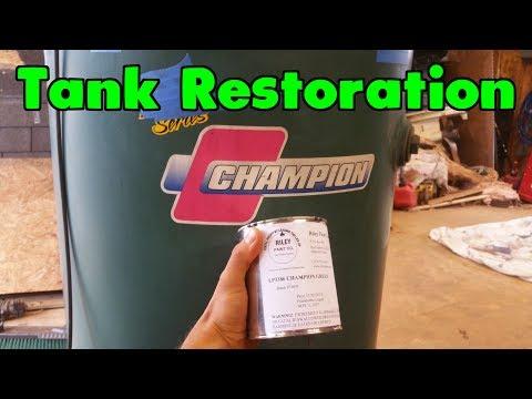 Restore Your Air Compressor Tank!