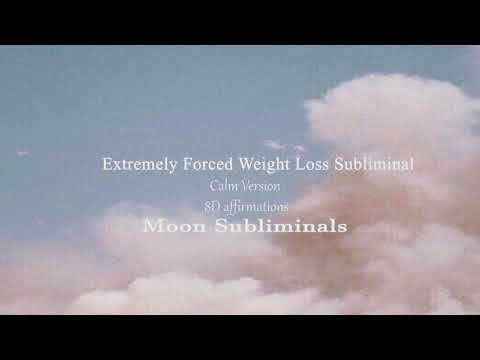☾extremely-forced-weight-loss-subliminal(calm)--results-in-one-listen☾