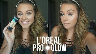 NEW L'Oreal PRO - GLOW Foundation | First Impression & Review!