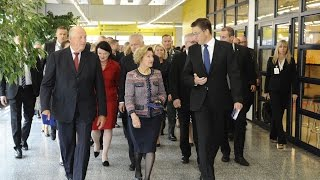 The visit of HM King Harald V and HM Queen Sonja of Norway at University of Oulu 8.9.2016