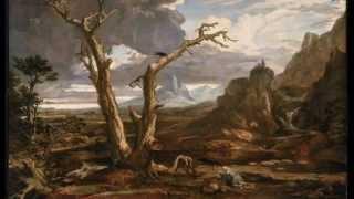 Washington Allston, Elijah in the Desert, 1818