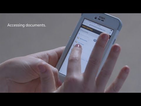 Learn to Access Documents on Firm Central from Your Mobile Device