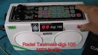 Radel Taalmala Digi 100 - Part 6 -MIDI facility