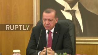 Turkey: Erdogan warns Germany not to interfere in domestic affairs