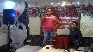 Nafrat ki duniya Ko Chodke Live Singing By Rajesh Gupta