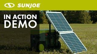 SJ1440SP - Sun Joe Folding Solar Panel With Cable For Use With SJ1440SG Solar Generator