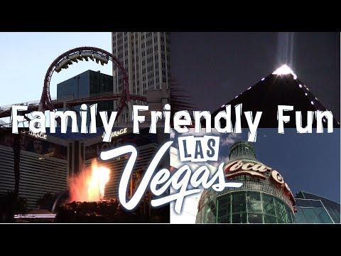 Family Friendly (sometimes Free) Fun On The Las Vegas Strip