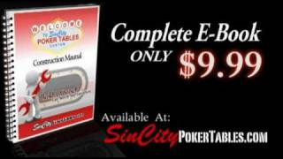 Poker Table Plans - Step-by-step Construction Manual