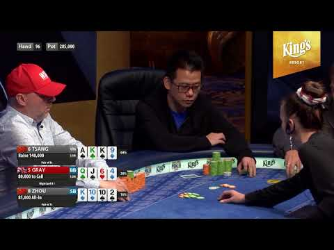 If you love Omaha you must watch this! Final table of the 2018 WSOPE PLO bracelet event!