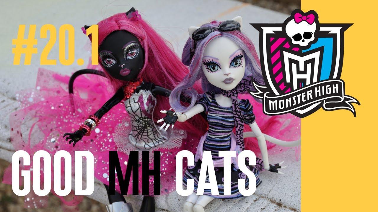 Куклы Monster High из серии Фантастический фитнес (Fangtastic .