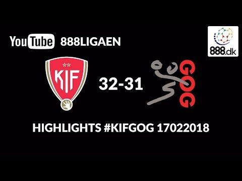 Highlights: KIF Kolding København 3231 GOG Håndbold  17022018