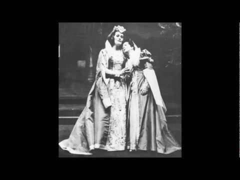 [1962 live] Joan Sutherland - Les Huguenots at La Scala - O beau pays de la Touraine