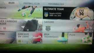 Comment jouer en ligne a FIFA 14