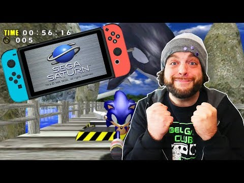 Sega Saturn and Dreamcast COMING TO NINTENDO SWITCH! | RGT 85